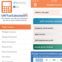 2016-17 Tax Calculator App Update Now Available Free In The App Store