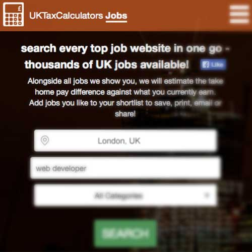 Job Hunting? Use Our New Job Search With Take Home Estimates Built-In