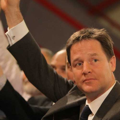 Nick Clegg Pushing For Further Rise In Personal Allowance