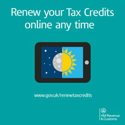 Tax Credit Renewal Online Can Take As Little As Six Minutes