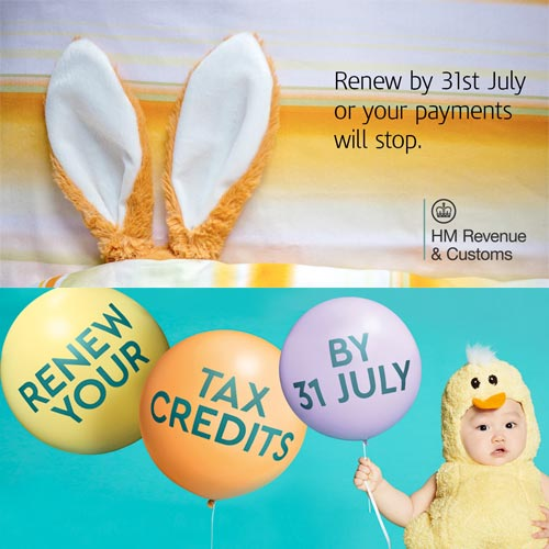 Renew Tax Credits Before July 31st