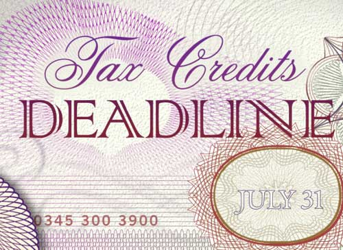 More Than Three Million People Renew Tax Credits By Deadline