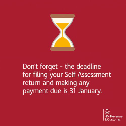 Only a Few Weeks Until Self Assessment Deadline