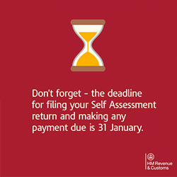 Tax Return Deadline Reminder