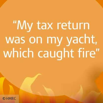 HMRC Reveals Latest Batch of Excuses For Late Tax Returns